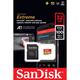 Sandisk Extreme Pro A1 Micro SDHC UHS-I 100mb/s with Adaptor 記憶卡 32GB 香港行貨