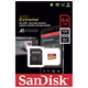 Sandisk Extreme Pro A1 Micro SDHC UHS-I 100mb/s with Adaptor 記憶卡 64GB 香港行貨