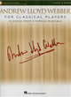 ANDREW LLOYD WEBBER FOR CLASSICAL PLAYERS (Flute & Piano) +Audio Access