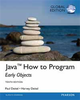 JAVA HOW TO PROGRAM (EARLY OBJECTS) 10/E (GE)