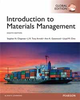 INTRODUCTION TO MATERIALS MANAGEMENT 8/E (GE)